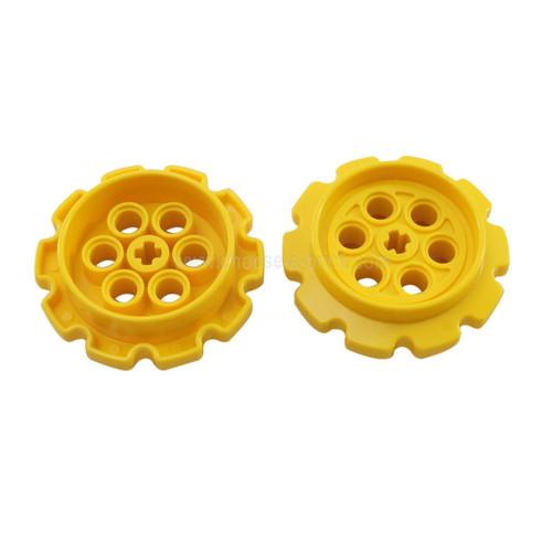 Technic Tread Sprocket Wheel Large yellow
