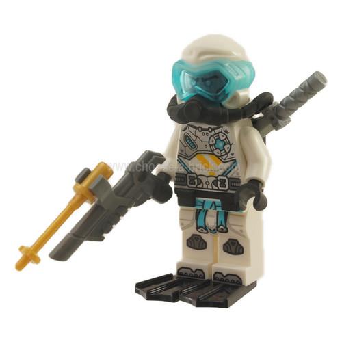 Zane - Seabound, Scuba Gear - LEGO Ninjago Minifigure