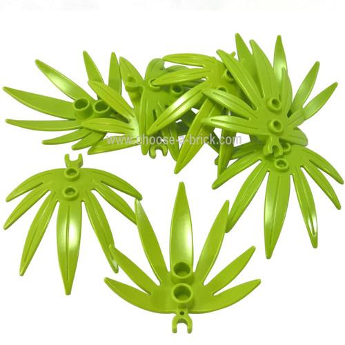 Plant Leaves 6 x 5 Swordleaf with Clip lime