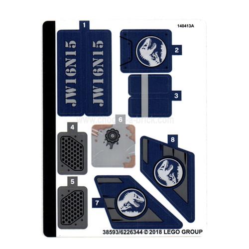 Sticker for Set 75928 - 38593-6226344