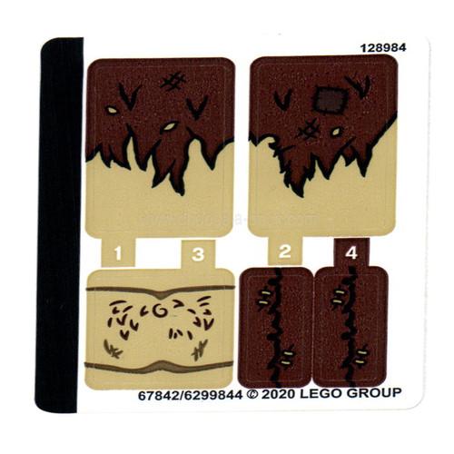 Sticker Sheet for Set 75967 - 67842-6299844