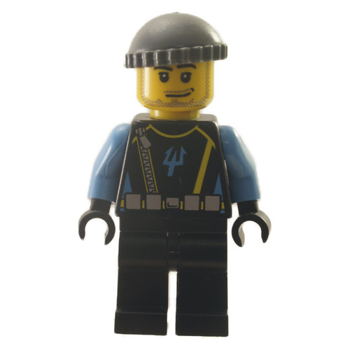 Aquaraider Diver 5 - Dark Bluish Gray Knit Cap