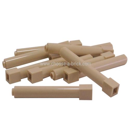 Support 1 x 1 x 6 Solid Pillar tan