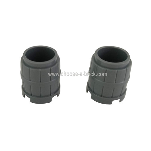 Container, Barrel 2 x 2 x 2 dark bluish gray