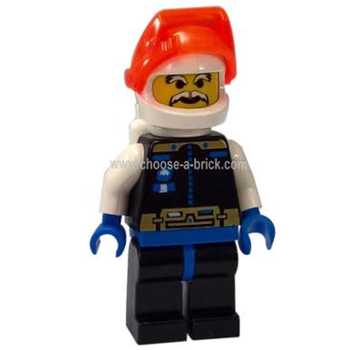 Lego Mini Figure Space Spyrius Chief - sp040