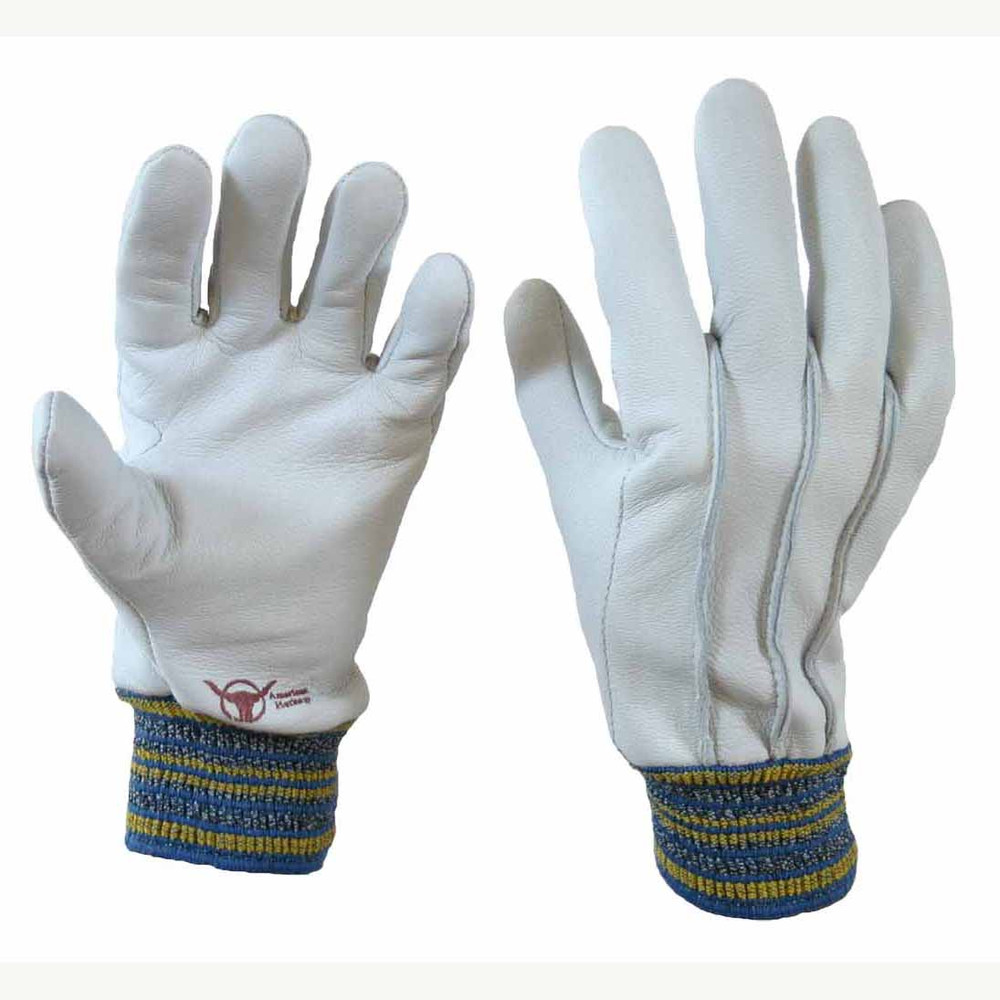Perfect Gardener Goatskin Gloves with Elastic Wrist