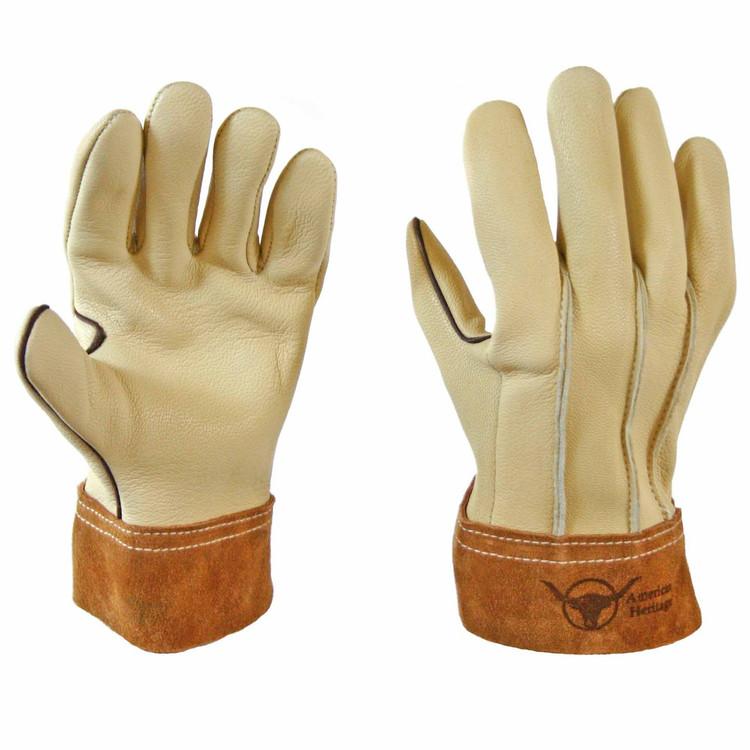Ranch Hand Goatskin Work Gloves