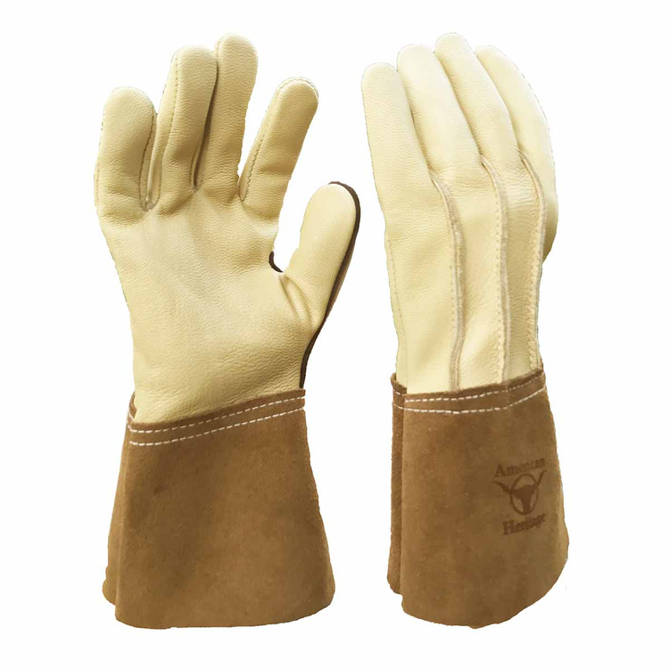 Ranch Hand Plus Goatskin Glove with 4 inch Cuff