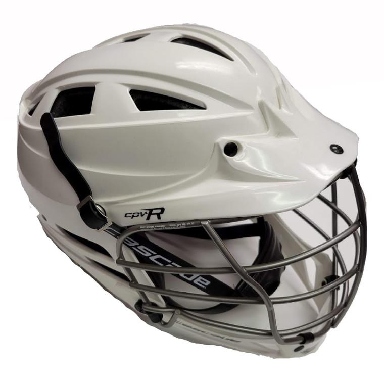 CPV-R Lax Helmet w/Silver Facemask