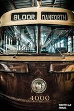 A new line of affordable Toronto art with photography of vintage TTC streetcars