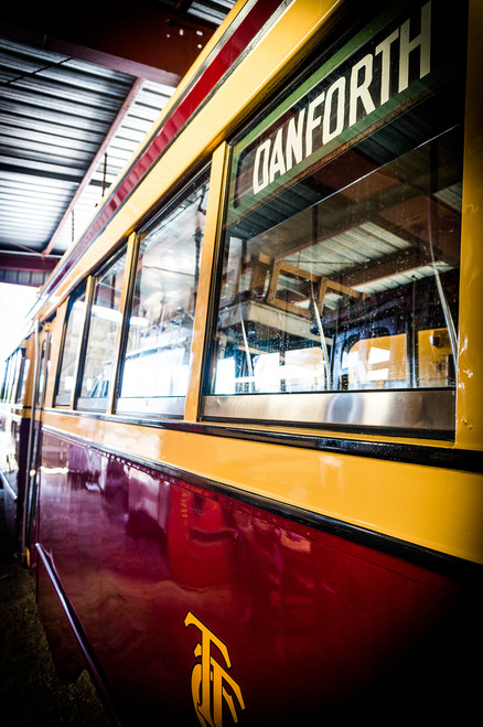 Vintage TTC streetcar No. 29 - Danforth art
