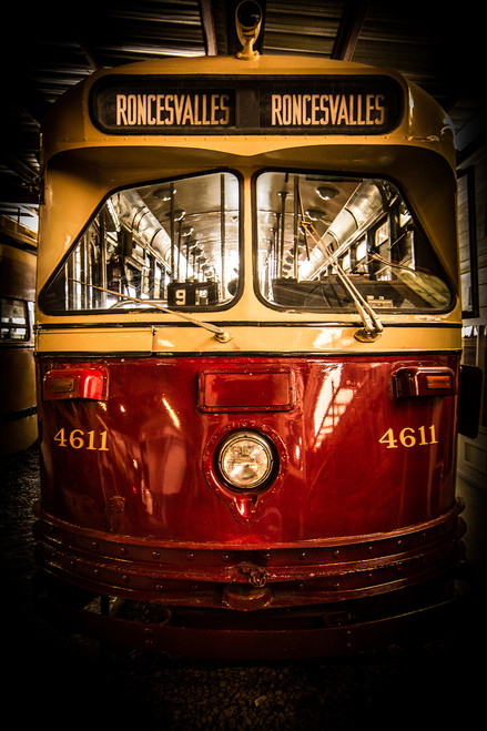 Vintage TTC streetcar No. 26, repping Roncesvalles