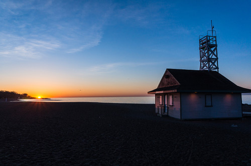 Leuty Lifeguard Station at Toronto Beaches #1