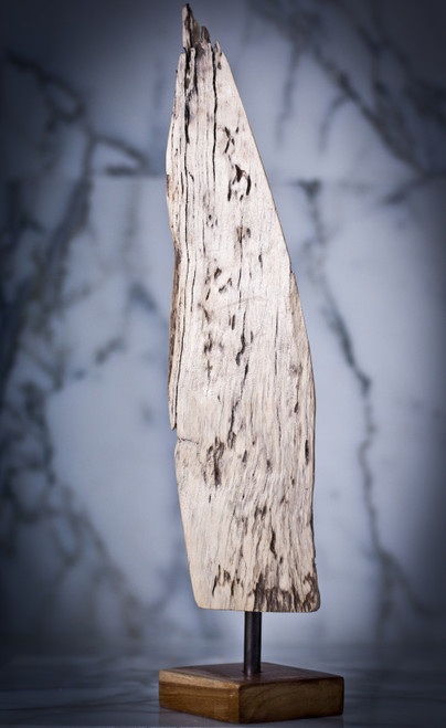 """""""Flame"""" spalted-maple wood sculpture"""