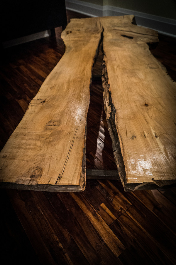 SOLD - New live edge coffee table
