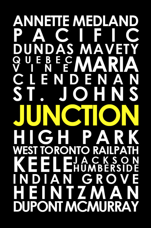 """The Junction 16 x 24"""" art canvas"""