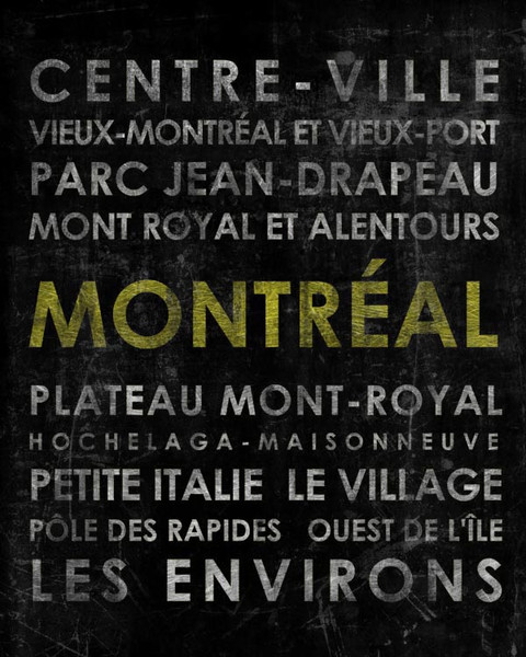 "Montreal 16x24"" canvas"