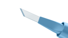 45 Degrees Single Edge Blade - 6-10/6-050