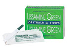 Lissamine Green Test Strips