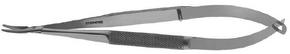 Titanium Barraquer Needle Holder Standard Curved Jaws W/O Lock - ST6-1000