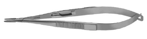 Titanium Castroviejo Needle Holder Standard Jaws Straight W/Lock- ST6-1050