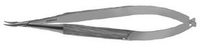 Titanium Stephens Needle Holder Slim Model, Very Delicate 0.45mm Jaws, Cu. W/O Lock - ST6-1125