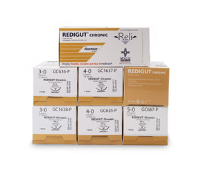 RELI REDIGUT Absorbable Chromic Gut Suture
