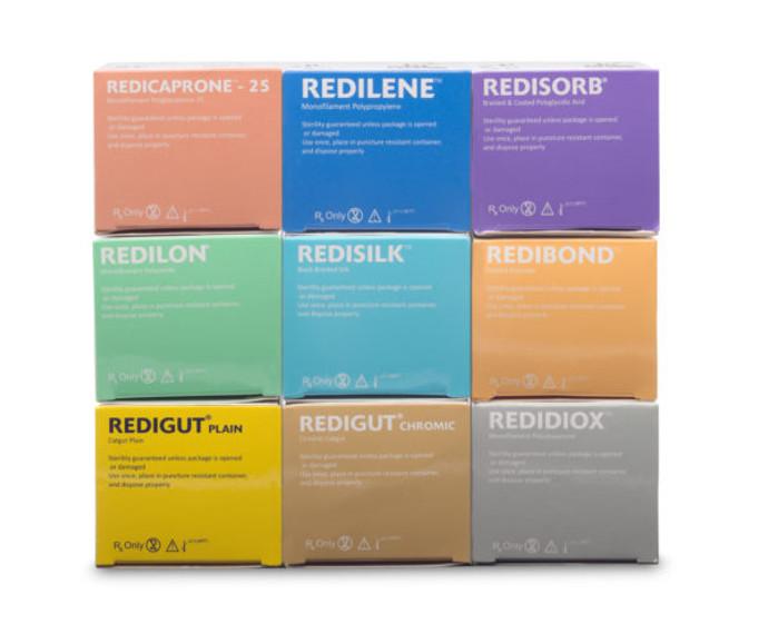 RELI REDISILK BL BR Non-Absorbable Silk Suture