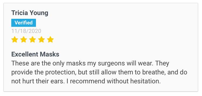 Customer Review Japanese N95 Masks