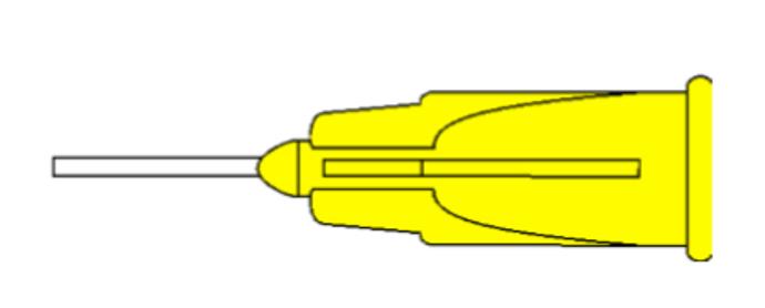 7920 Silicone Oil Cannula 20G