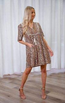 Wild Leopard Short Dress