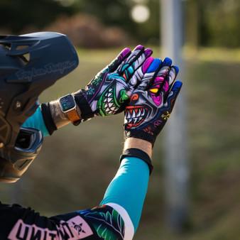 Mens Moto Gloves - Clowning
