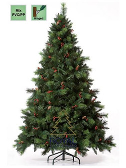 Christmas Tree - Phoenix PP/PVC 180cm hinged