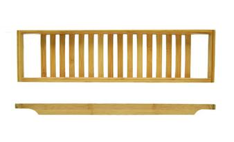 Bamboo Bathtub Rack 65x15x3.8cm