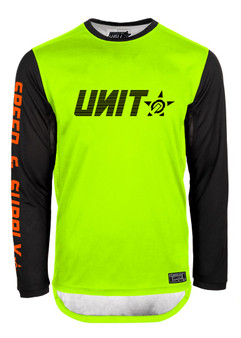 Mens MX Jersey - Fusion - Yellow