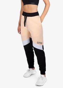 Ladies Fleece Trackpants Candid - Peach
