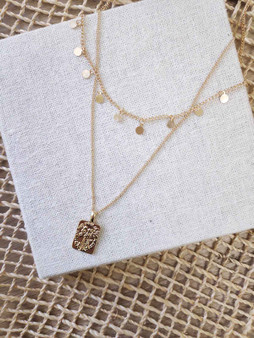 Juniper Layered Charm Necklace