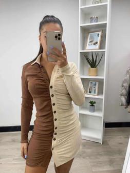Caramilk Dress