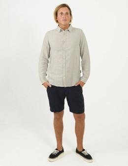 Linen LS Shirt - Natural