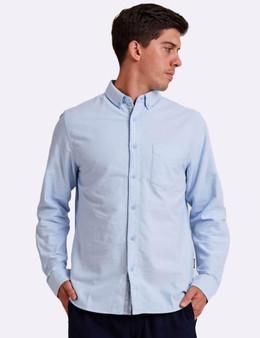 Oxford LS Shirt - Blue