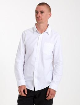 Oxford LS Shirt - White