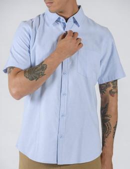 Oxford SS Shirt - Blue