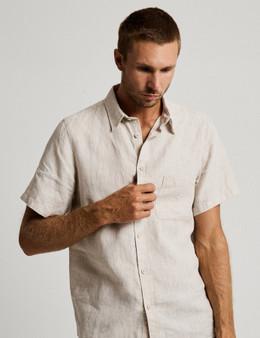 Linen SS Shirt - Natural
