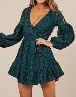 Emerald Beauty Dress