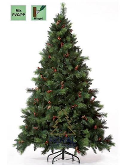 Christmas Tree - Phoenix PP/PVC 180cm hinged