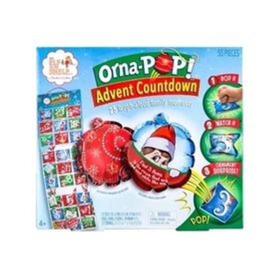 Elf On The Shelf Orna-POP! Advent Countdown Calendar