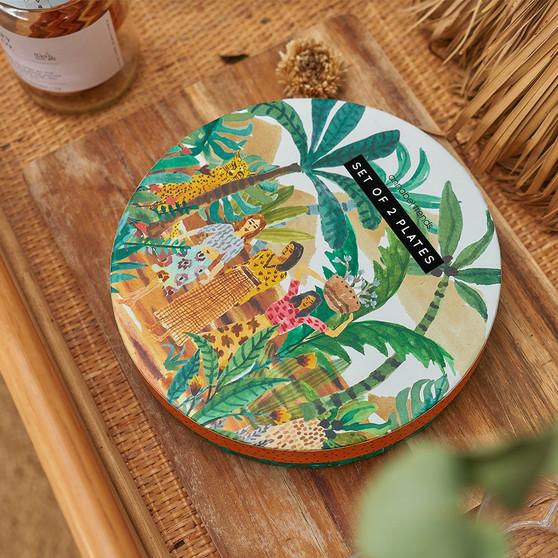 Gardens Of Babylon – Plate Set