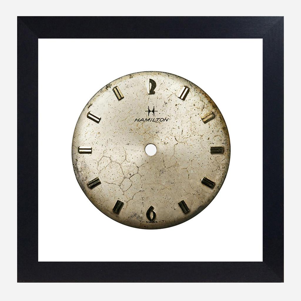 Framed Watch Face Print, Hamilton 10x10 (WHS Open Box Stock)