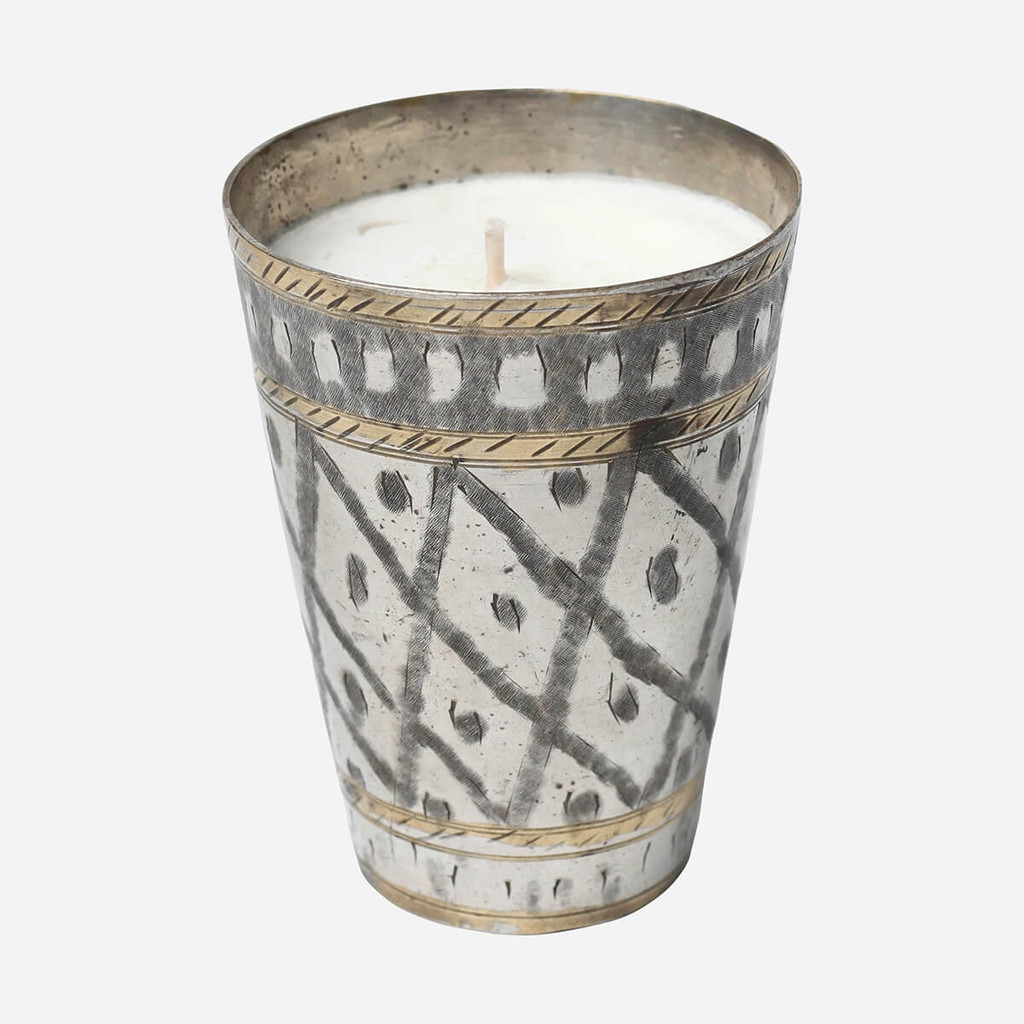 Lassi Cup Candle, Succulent