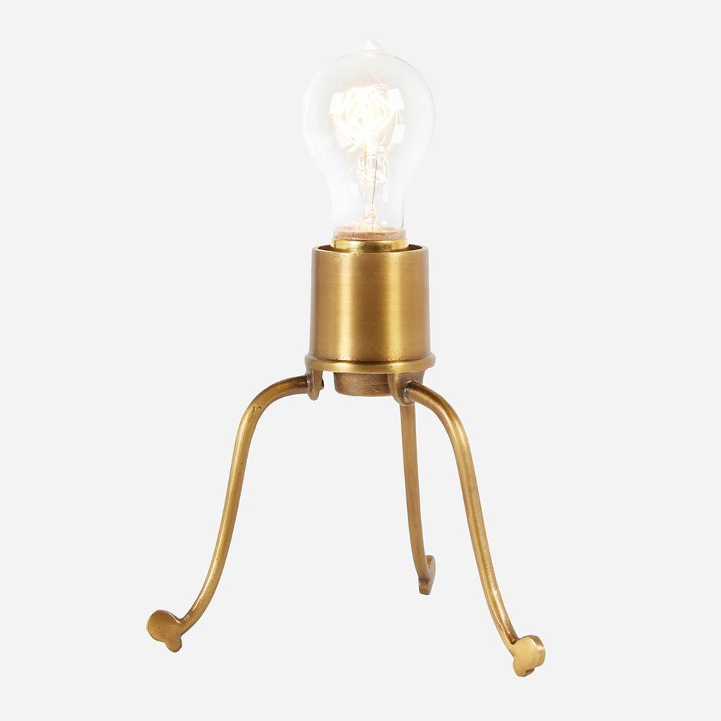Spider Desk Lamp, Brass